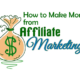 How to Make Money from Affiliate Marketing in Hindi