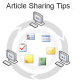 Article sharing-tips  – Advantages vs. Disadvantages.