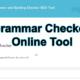 Grammar Checker Tool  Online