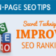 Tips for On Page SEO | Grow Within A Week