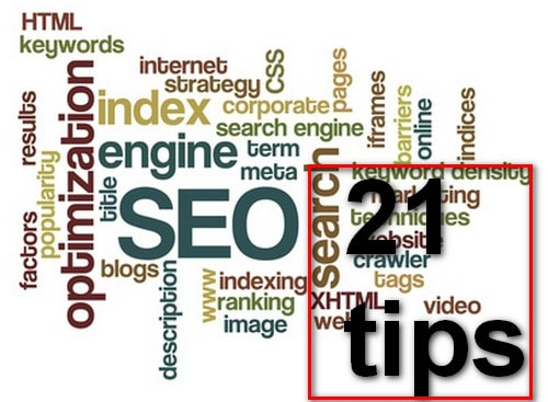 TOP 21 SEO TIPS & TRICKS to increase web traffic
